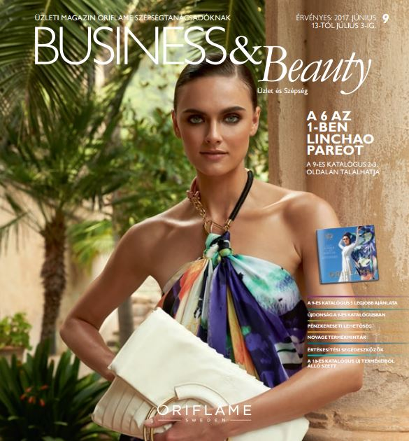 Oriflame Business&Beauty magazin 9-2017
