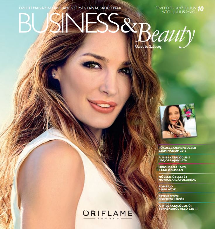 Oriflame Business and Beauty Magazin 10/2017