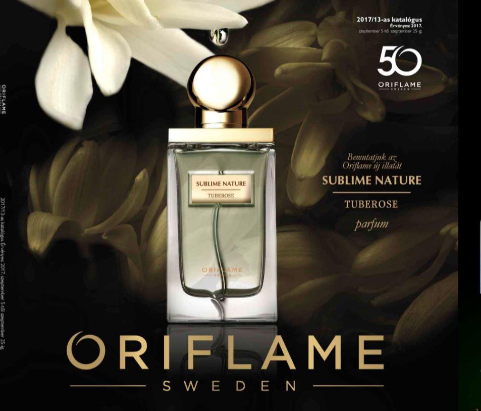 Oriflame 13-as katalógus 2017
