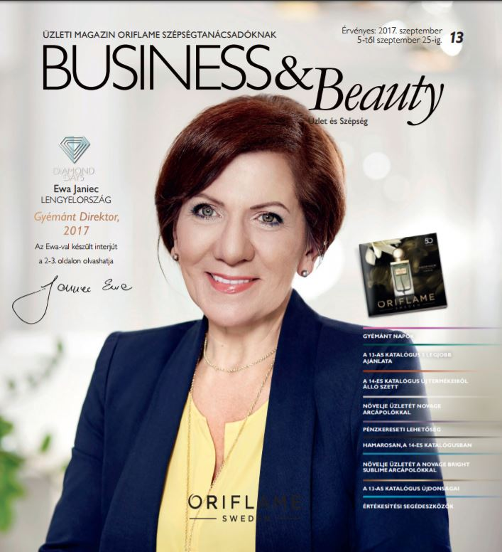 Oriflame Business&Beauty magazin 13-2017