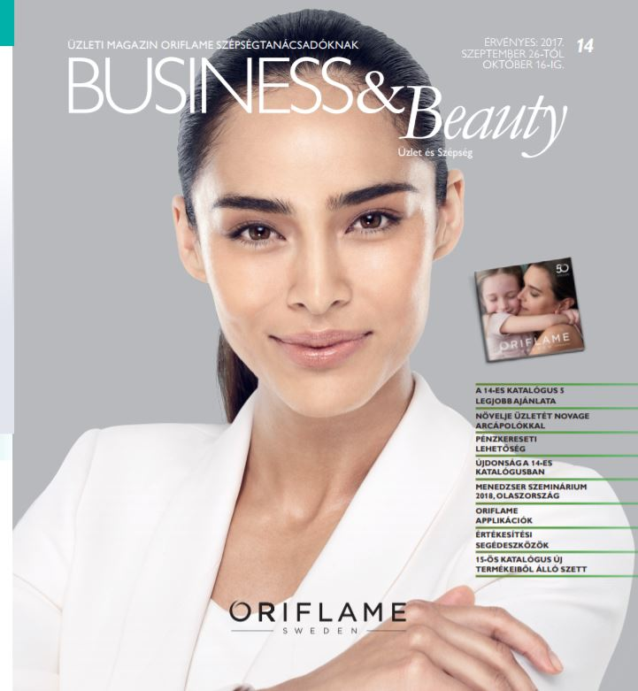 Oriflame Business and Beauty Magazin 14-2017