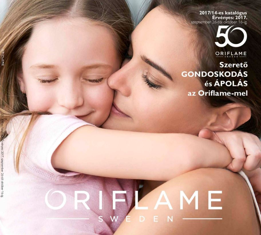 Oriflame 14-es katalógus 2017