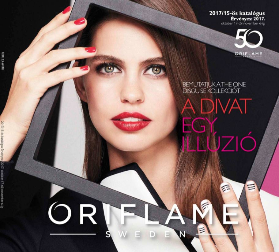 Oriflame aktuális 15-ös katalógus