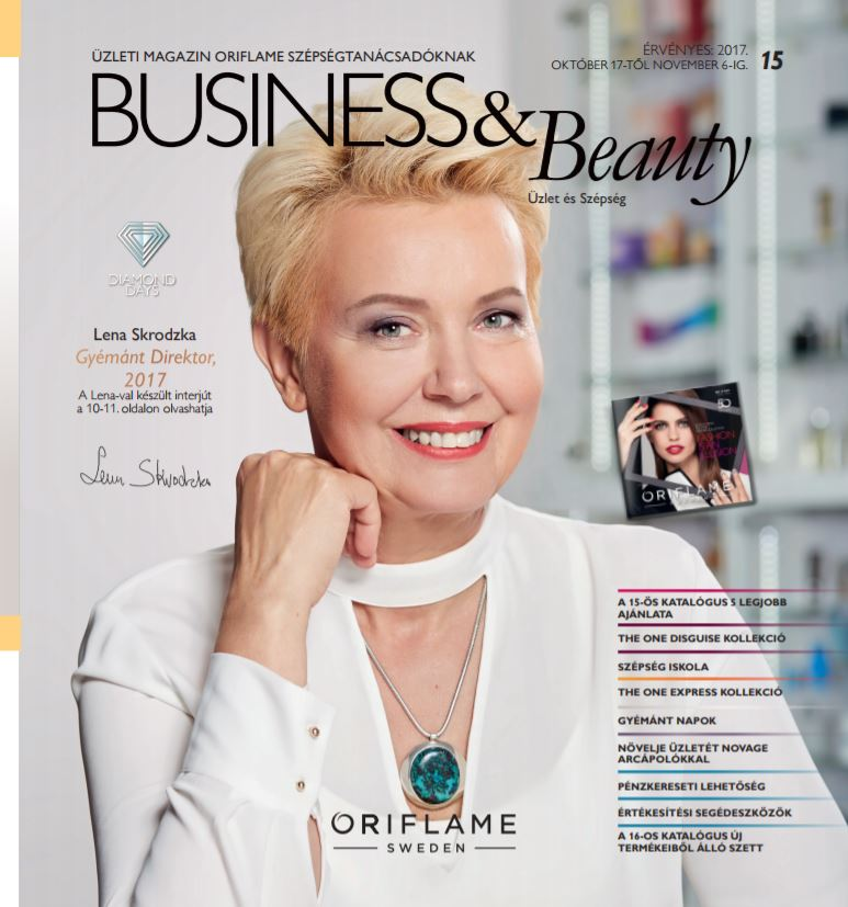 Oriflame Business&Beauty magazin 15-2017