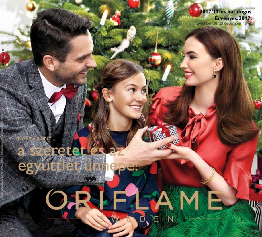 Oriflame következő 17-es karácsonyi katalógus