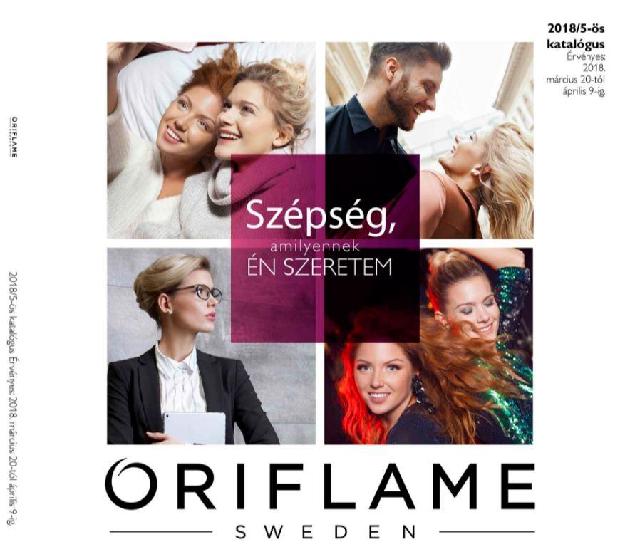 Oriflame következő 5-ös katalógus