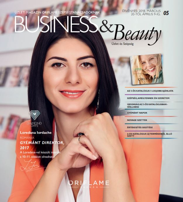 Oriflame Business & Beauty Magazin 5-2018